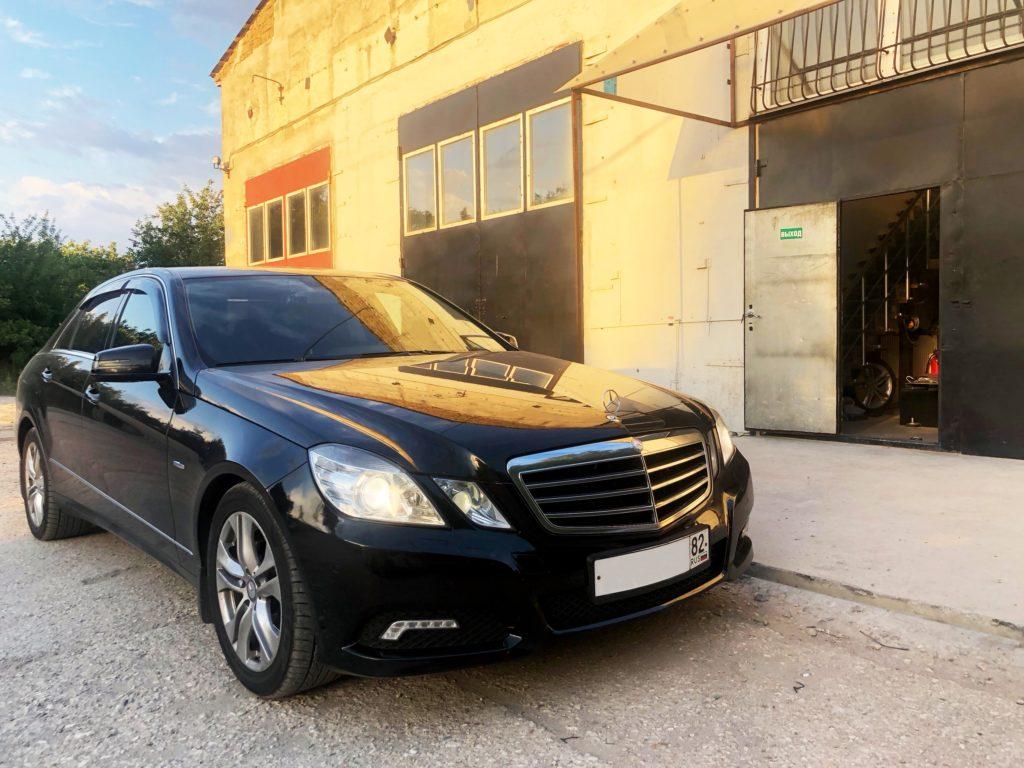 Удаление ЕГР и сажевика на Mercedes-Benz E220