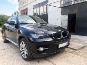 BMW X6 E71 - отключение сажевого фильтра и ЕГР
