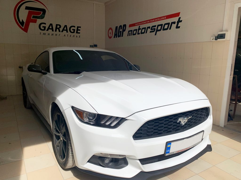 Ford Mustang - отключение катализаторов