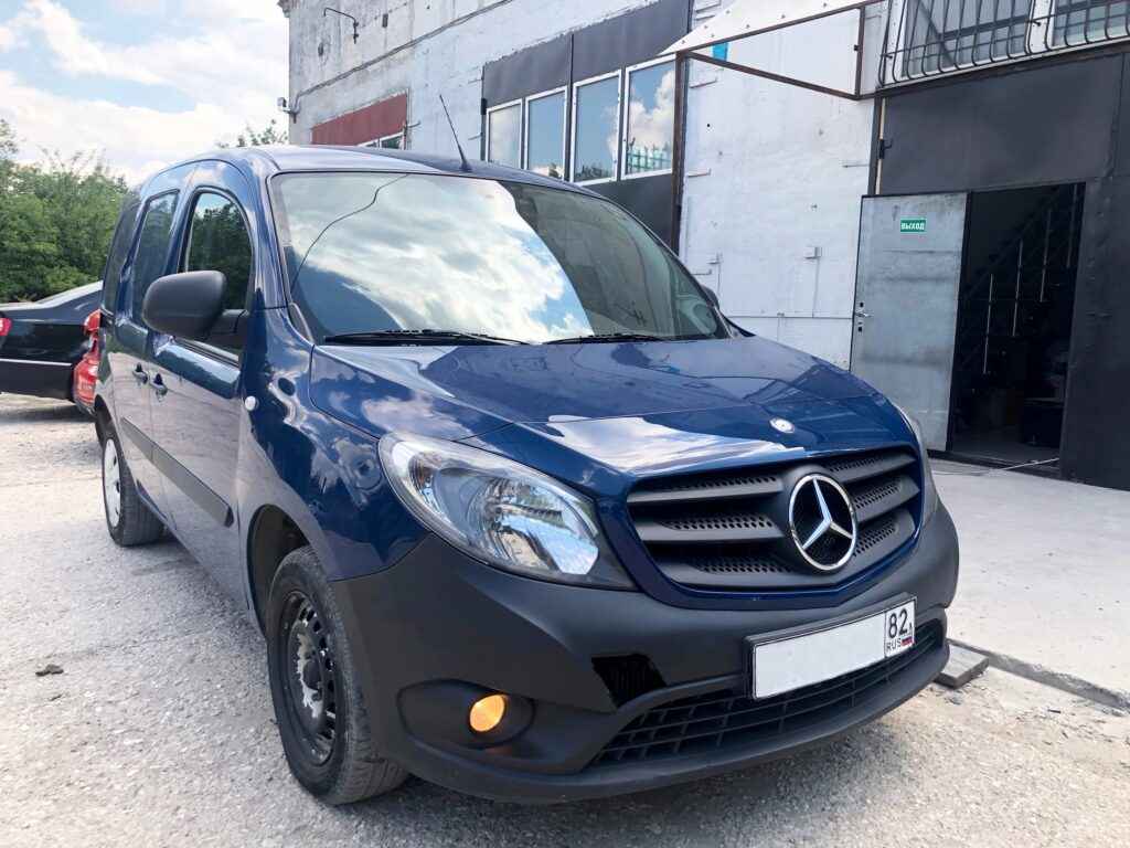 Mercedes-Benz Citan - удаление