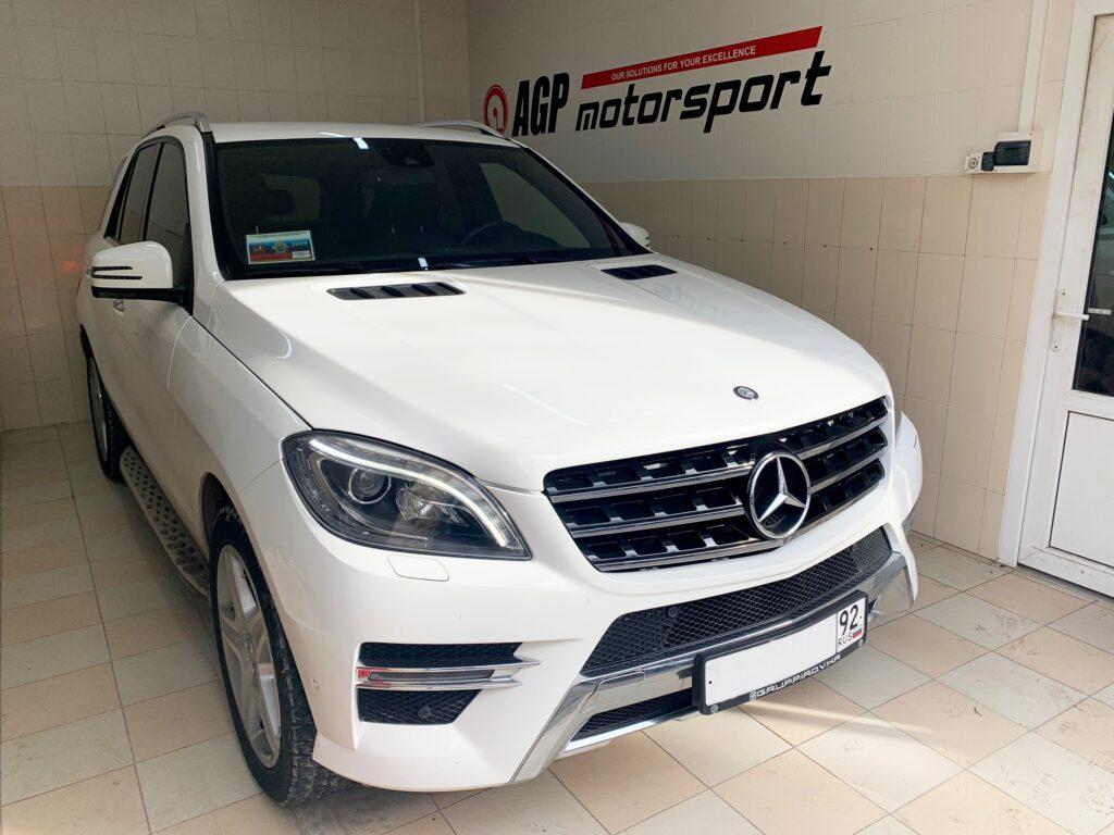 Mercedes-Benz ML350d 3.0D - отключение мочевины