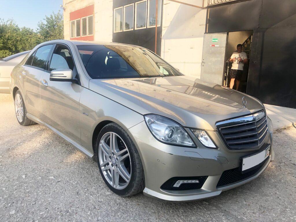 Mercedes-Benz E200 - стейдж1