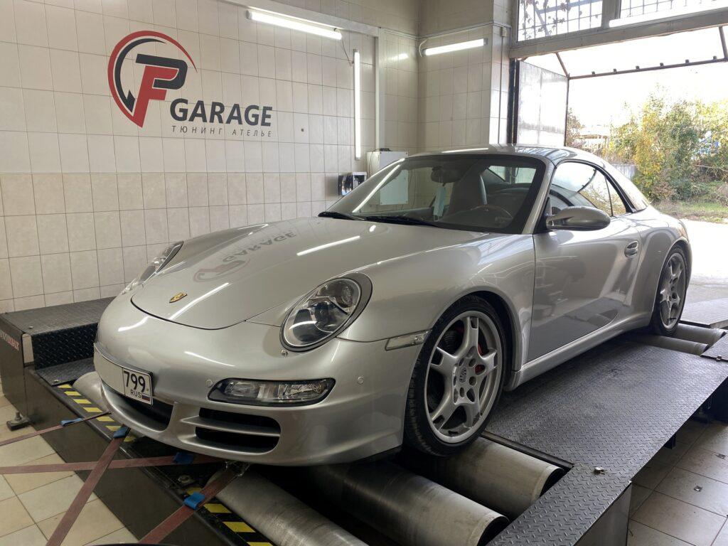 Настройка на стенде сразу 2-х Porsche Carrera S