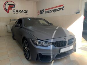 BMW M4 - перевод со стейдж1 на стейдж2